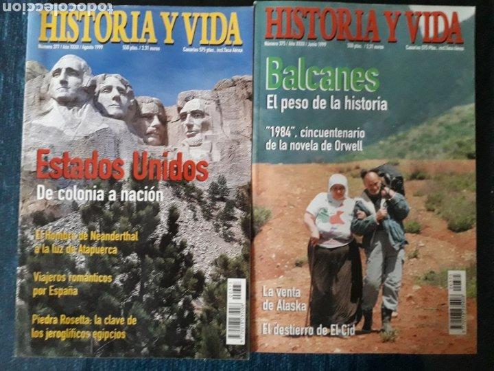 Coleccionismo de Revista Historia y Vida: LOTE 10 REVISTAS HISTORIA Y VIDA. MUY BUEN ESTADO - Foto 3 - 269480758