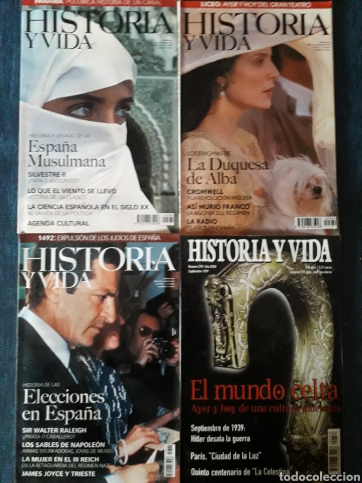 LOTE 10 REVISTAS HISTORIA Y VIDA. MUY BUEN ESTADO (Coleccionismo - Revistas y Periódicos Modernos (a partir de 1.940) - Revista Historia y Vida)