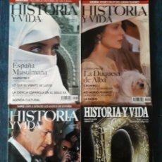 Coleccionismo de Revista Historia y Vida: LOTE 10 REVISTAS HISTORIA Y VIDA. MUY BUEN ESTADO. Lote 269480758