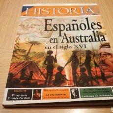 Coleccionismo de Revista Historia y Vida: REVISTA HISTORIA N° 336 - ESPAÑOMES EN AUSTRALIA EN EL SIGLO XVI. Lote 269499573