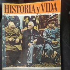 Coleccionismo de Revista Historia y Vida: HISTORIA Y VIDA. Lote 269836773