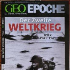 Coleccionismo de Revista Historia y Vida: REVISTA ALEMANA GEOEPOCHE 44. Lote 270633863