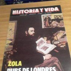 Colecionismo da Revista Historia y Vida: REVISTA HISTORIA Y VIDA,N-209,AÑO XVIII,AGOSTO 1985, VER DESCRIPCION... Lote 274172733