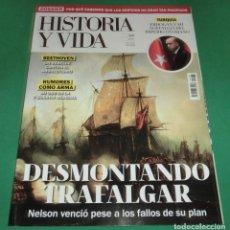 Coleccionismo de Revista Historia y Vida: HISTORIA Y VIDA Nº 633- DESMONTANDO TRAFALGAR (COMO NUEVA) NOV-2020. Lote 274304938