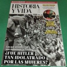 Coleccionismo de Revista Historia y Vida: HISTORIA Y VIDA Nº 634- ¿FUÉ HITLER TAN IDOLATRADO POR LAS MUJERES? (COMO NUEVA) DIC-2020. Lote 274309853