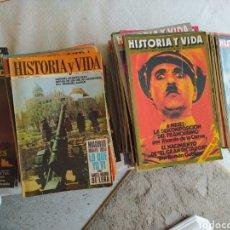Coleccionismo de Revista Historia y Vida: LOTE DE 82 REVISTAS DE HISTORIA Y VIDA. VER NÚMEROS Y AÑOS EN DESCRIPCIÓN.. Lote 276500378