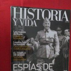 Coleccionismo de Revista Historia y Vida: ESPIAS DE FRANCO. Lote 277038748