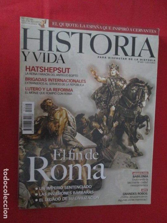 EL FIN DE ROMA (Coleccionismo - Revistas y Periódicos Modernos (a partir de 1.940) - Revista Historia y Vida)
