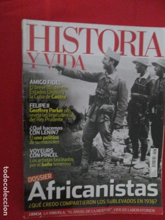 AFRICANISTAS (Coleccionismo - Revistas y Periódicos Modernos (a partir de 1.940) - Revista Historia y Vida)