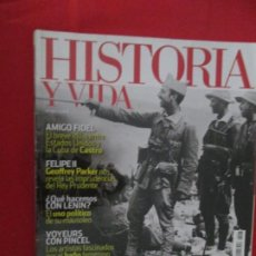 Coleccionismo de Revista Historia y Vida: AFRICANISTAS. Lote 277038913