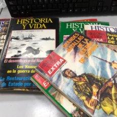 Coleccionismo de Revista Historia y Vida: LOTE REVISTA HISTORIA Y VIDA AÑOS 70 Y EXTRAS. Lote 277157408