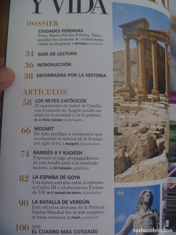 Coleccionismo de Revista Historia y Vida: HISTORIA Y VIDA , Nº 465; CIUDADES PERDIDAS, BATALLA DE VERDUN, RAMSES II, REYES CATOLICOS, ETC - Foto 2 - 277421398