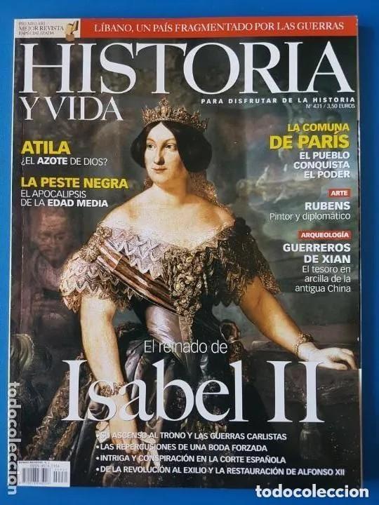 HISTORIA Y VIDA Nº 429-431-444-447-456-474-475. LOTE DE 7 NÚMEROS. (Coleccionismo - Revistas y Periódicos Modernos (a partir de 1.940) - Revista Historia y Vida)