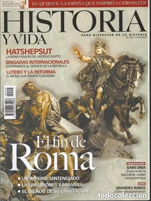 Coleccionismo de Revista Historia y Vida: HISTORIA Y VIDA Nº 429-431-444-447-456-474-475. LOTE DE 7 NÚMEROS. - Foto 2 - 277565428