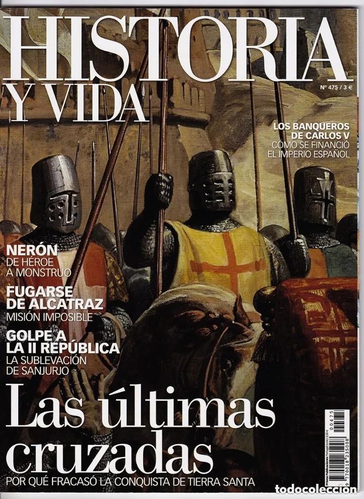 Coleccionismo de Revista Historia y Vida: HISTORIA Y VIDA Nº 429-431-444-447-456-474-475. LOTE DE 7 NÚMEROS. - Foto 6 - 277565428