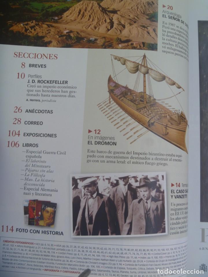 Coleccionismo de Revista Historia y Vida: HISTORIA Y VIDA , Nº 460: CELTAS, SACCO Y VANZETTI, TUMBA EÑOR SIPAN, SARAJEVO 1914, ETC - Foto 3 - 278412283