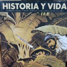Coleccionismo de Revista Historia y Vida: REVISTA HISTORIA Y VIDA - AÑO XXVI- Nº 303. LA GUERRA DE INDOCHINA. LILLIAN GISH. Lote 278821803