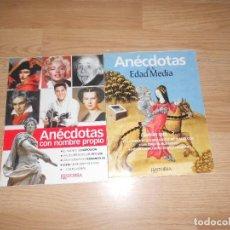 Collectionnisme de Magazine Historia y Vida: 2 ANECDOTAS CON NOMBRE PROPIO Y DE LA EDAD MEDIA. HISTORIA Y VIDA. ILUSTRADO. TENGO + REVISTAS. Lote 278937158