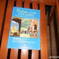 Coleccionismo de Revista Historia y Vida: RUTAS CON ENCANTO PARA DESCUBRIR EL PASADO - Nº 1 - HISTORIA Y VIDA. TENGO + LIBROS. Lote 279532563
