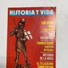 Coleccionismo de Revista Historia y Vida: HISTORIA Y VIDA. Nº 160. ABRIL DE 1982. SAN JORGE MITO Y LEYENDA. VER SUMARIO.. Lote 286808718