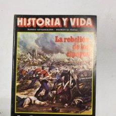 Coleccionismo de Revista Historia y Vida: HISTORIA Y VIDA. Nº 168. MARZO DE 1982. LA REBELION DE LOS CIPAYOS. VER SUMARIO.. Lote 286808823
