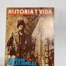 Coleccionismo de Revista Historia y Vida: HISTORIA Y VIDA. Nº 166. ENERO DE 1982. EL OCASO DE LAS AGUILAS. VER SUMARIO.. Lote 286809133