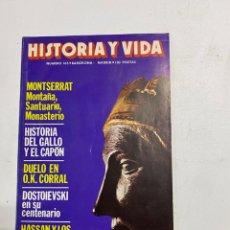 Coleccionismo de Revista Historia y Vida: HISTORIA Y VIDA. Nº 165. DICIEMBRE DE 1981. MONTSERRAT, MONTAÑA, SANTUARIO, MONASTERIO. VER SUMARIO.. Lote 286809223