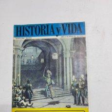 Coleccionismo de Revista Historia y Vida: HISTORIA Y VIDA. Nº 32. NOVIEMBRE 1970. DIEGO DE LEON INTENTA RAPTAR A ISABEL II. VER SUMARIO.. Lote 286809403