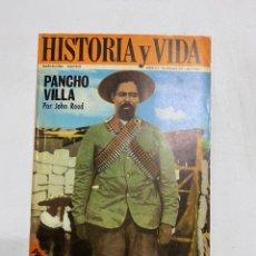 Coleccionismo de Revista Historia y Vida: HISTORIA Y VIDA. Nº 22. ENERO 1970. PANCHO VILLA POR JOHN REED. VER SUMARIO.. Lote 286809543
