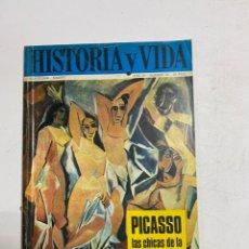 Coleccionismo de Revista Historia y Vida: HISTORIA Y VIDA. Nº 45. DICIEMBRE 1971. AGRESION EN PEARL HARBOR. PICASSO. VER SUMARIO.. Lote 286810508
