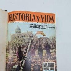 Coleccionismo de Revista Historia y Vida: HISTORIA Y VIDA Nº 1 MADRID, MARZO, 1939 LO QUE YO VI POR ANGEL MARÍA LERA. Lote 287238413