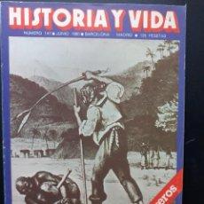 Coleccionismo de Revista Historia y Vida: REVISTA HISTORIA Y VIDA Nº 147 - 1980. Lote 289443973