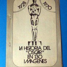 Coleccionismo de Revista Historia y Vida: LA HISTORIA DEL OSCAR EN 130 IMÁGENES 1928-1970. COLECCIONABLE DE REVISTA. Lote 289597448