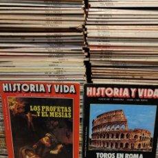 Coleccionismo de Revista Historia y Vida: REVISTA, HISTORIA Y VIDA, DEL 1 AL 268(LEER LAS QUE FALTAN EN DESCRIPCIÓN)PYMY TM. Lote 289802518