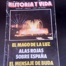 Coleccionismo de Revista Historia y Vida: HISTORIA Y VIDA. N°224. BARCELONA - MADRID. AÑO: XIX. NOVIEMBRE 1986. Lote 291599793