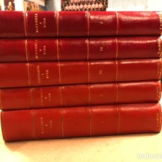 Coleccionismo de Revista Historia y Vida: HISTORIA Y VIDA. LOTE DE 5 TOMOS CON LOS PRIMEROS 33 NÚMEROS (1968 - 1970). ENCUADERNADOS. Lote 292945253