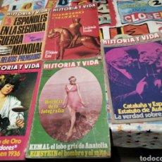 Coleccionismo de Revista Historia y Vida: HISTORIA Y VIDA. Lote 294975573