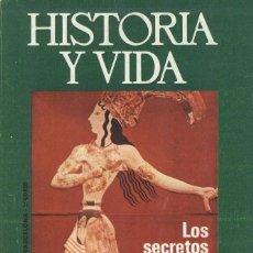 Coleccionismo de Revista Historia y Vida: HISTORIA Y VIDA. Nº 78. LOS SECRETOS DEL MINOTAURO. Lote 295443908