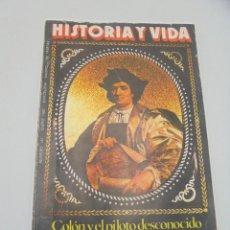 Coleccionismo de Revista Historia y Vida: HISTORIA Y VIDA. Nº 142. ENERO 1980. COLON Y EL PILOTO DESCONOCIDO. LOS ETRUSCOS Y LA MUERTE.. Lote 295595128