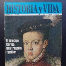 Coleccionismo de Revista Historia y Vida: REVISTA HISTORIA Y VIDA Nº 9 - 1968. Lote 295607763