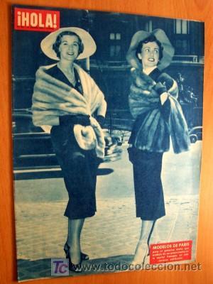HOLA 21 AGOSTO 1954 (Coleccionismo - Revistas y Periódicos Modernos (a partir de 1.940) - Revista Hola)
