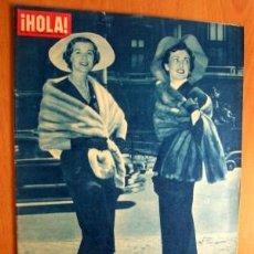 Coleccionismo de Revista Hola: HOLA 21 AGOSTO 1954. Lote 17002680