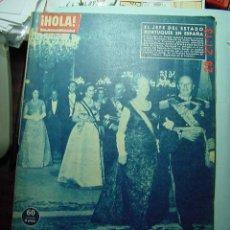 Coleccionismo de Revista Hola: 3515 REVISTA HOLA AMERICO THOMAS JACK KENNEDY LIZ TAYLOR Nº 900 AÑO 1961 MAS EN COSAS&CURIOSAS. Lote 10491427