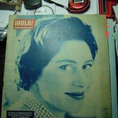 Coleccionismo de Revista Hola: 3632 REVISTA HOLA SOFIA DE GRECIA SORAYA MARGARITA ENGLAND Nº 898 AÑO 1961 MAS EN COSAS&CURIOSAS. Lote 10886063