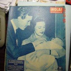 Coleccionismo de Revista Hola: 3635 REVISTA HOLA MARGARITA INGLATERRA - LILI ETC Nº 902 AÑO 1961 MAS EN COSAS&CURIOSAS. Lote 10886065
