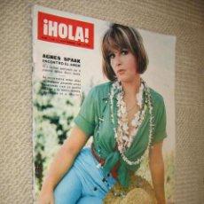 Coleccionismo de Revista Hola: HOLA, Nº 1149. 3/09/1966. AGNES SPAAK. RUPTURA ENTRE LOS KENNEDY Y LOS JOHNSON. Lote 23117301