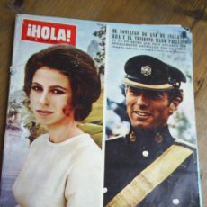 Coleccionismo de Revista Hola: REVISTA HOLA 1973 SOFIA LOREN . Lote 7954468