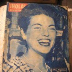 Coleccionismo de Revista Hola: HOLA, JUNIO DEL 60. Lote 24078491