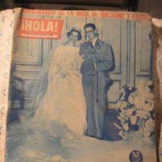 Coleccionismo de Revista Hola: HOLA, DICIEMBRE DEL 60. Lote 24393544