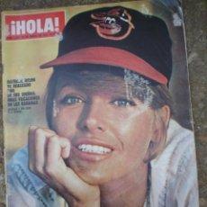 Coleccionismo de Revista Hola: REVISTA HOLA 24-4-1971 NATHALIE DELON,,KARINA,SINATRA ETC,. Lote 8780699